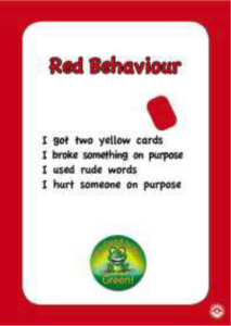 Red Behaviour