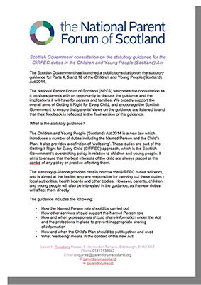National Parent forum of Scotland link 10