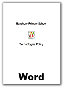 web ICT policy link - word